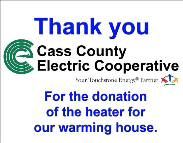 Cass County donation